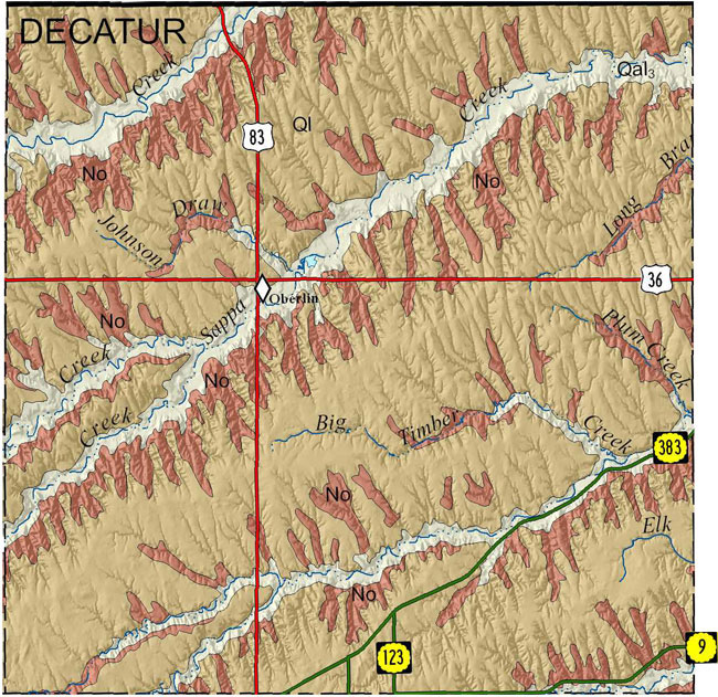 KGSGeologic MapDecatur