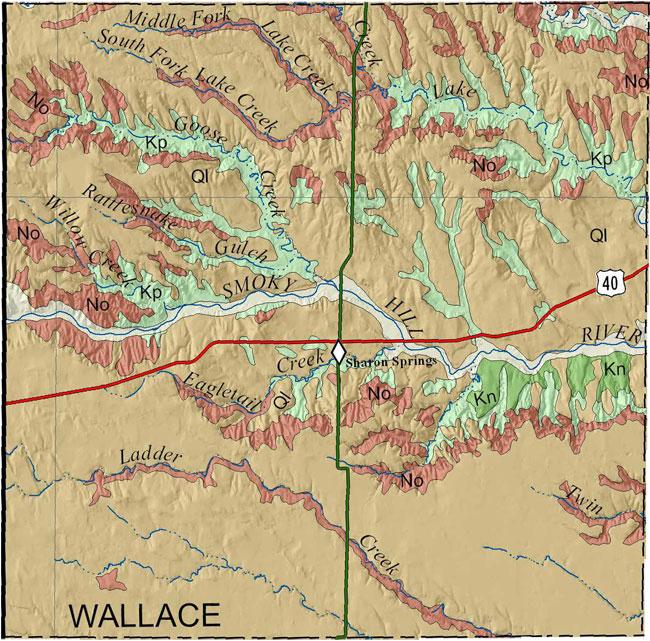 Kgs Geologic Map Wallace