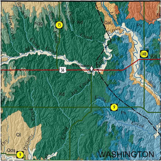 KGSGeologic MapWashington