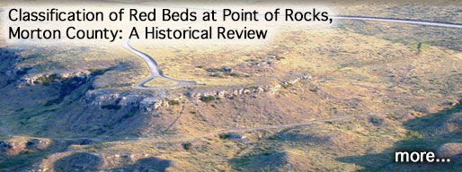 Classification of Red Beds at Point of Rocks, Morton County, Kansas: A Historical Review