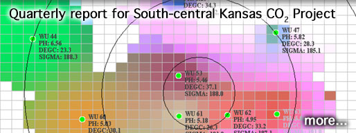 Quarterly report for South-central Kansas CO2 Project