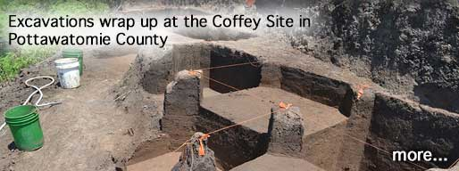 Excavations wrap up at the Coffey Site in Pottawatomie County.
