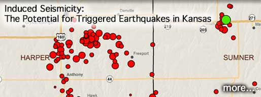 Induced Seismicity: The Potential for Triggered Earthquakes in Kansas