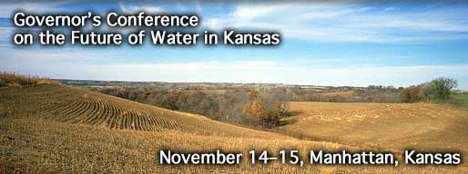 Governor's Conference on the Future of Water in Kansas