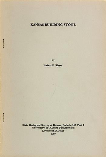 KGS--Bull  142, pt  2--Kansas Building Stone
