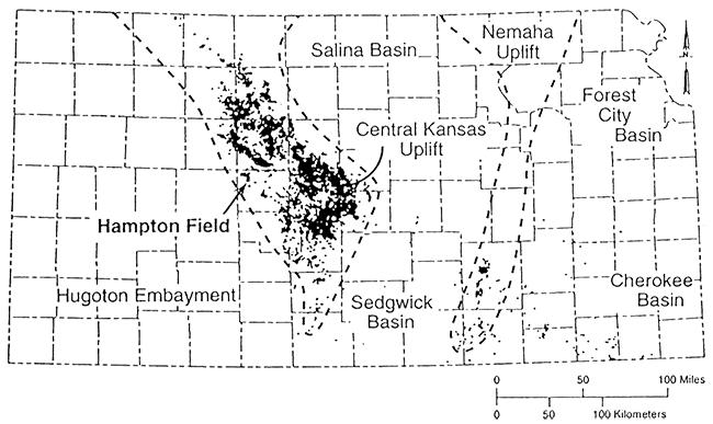 KGSBulletin 237Hampton Field Arbuckle Group Rush County Kansas