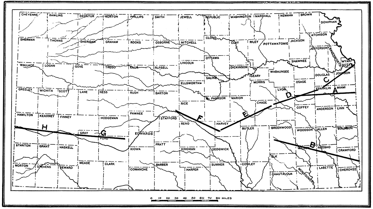 KGS--Oil and Gas Resources (1917)--Stratigraphy