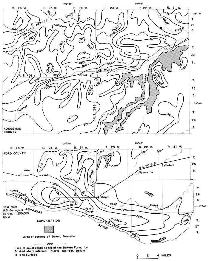 Kgs Irrigation Series 5 Water In The Dakota Formation Hodgeman