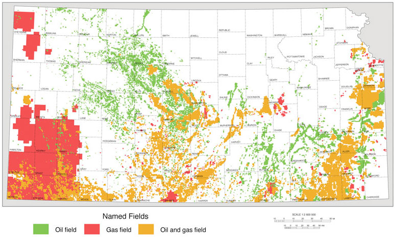 Fracking In Wyoming Map.Kgs Pub Inf Circ 32 Hydraulic Fracturing Of Oil And Gas Wells In