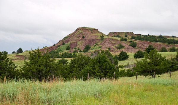 Red Hills Mounds and Buttes