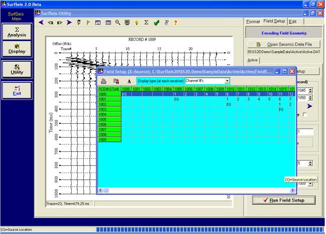KGS SurfSeis MASW Software SurfSeis Overview